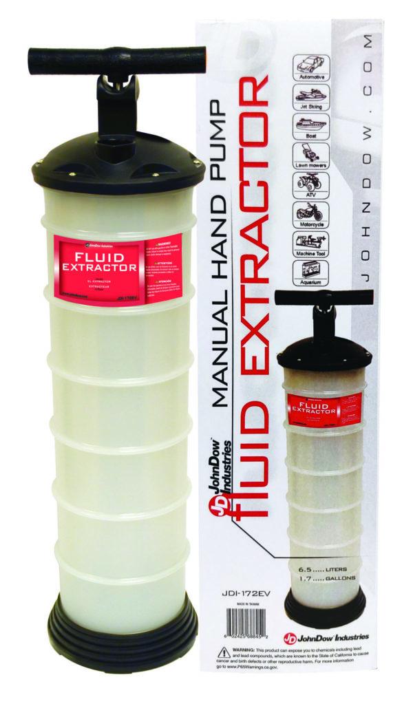 JDI-172EV Vacuum Fluid Extractor - Manual Pump