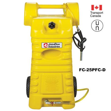 Poly Portable Fuel Cart 15-Gallon and 25-Gallon