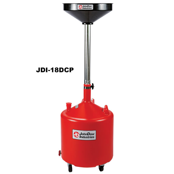 8-Gallon & 18-Gallon Economy Portable Poly Oil Drain