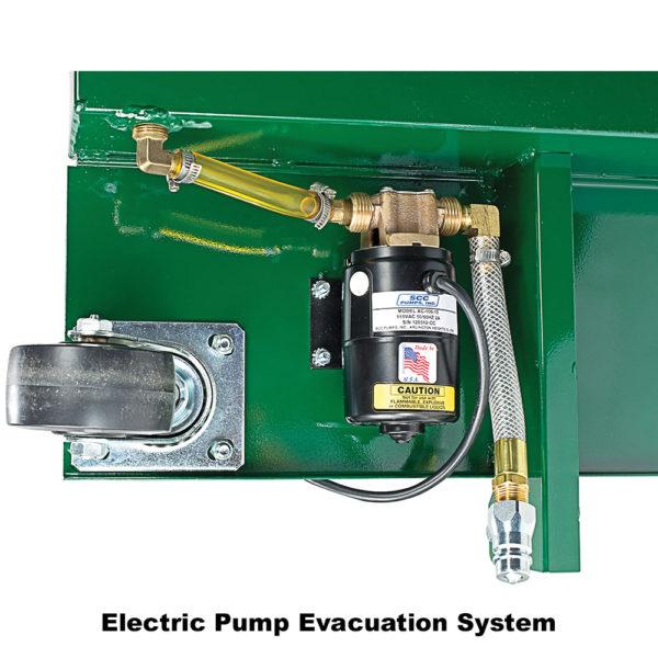 10-Gallon Low-Profile Antifreeze Drain with Electric Evacuation Pump