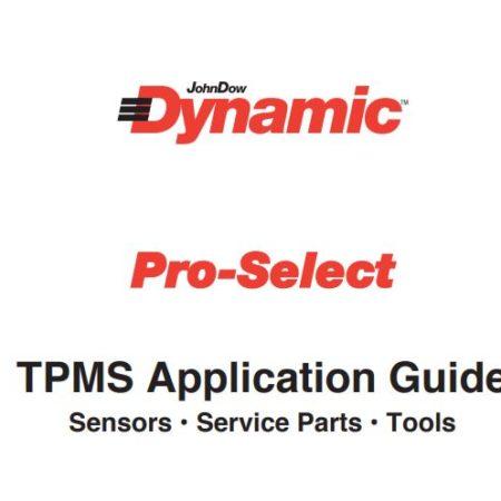 TPMS Application Guide Sensors • Service Parts • Tools